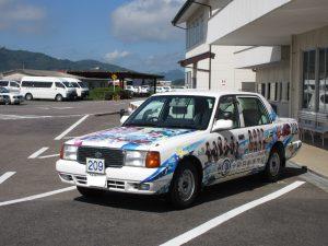 ラッピング教習車